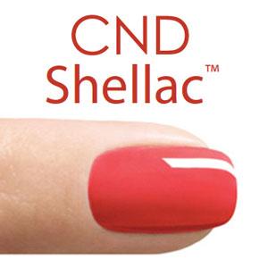 Shallac and acrylic nails